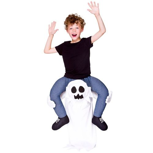 Childrens Carry Me - Ghost Costume Unisex Halloween Fancy Dress